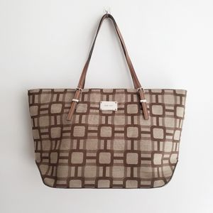 NINE WEST Totes Bag Large Brown